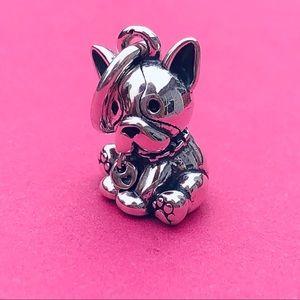 Pandora Bulldog Puppy Charm